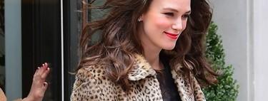 Solo Keira Knightley podría hacer preppy las prendas más rock que todas tenemos en el armario