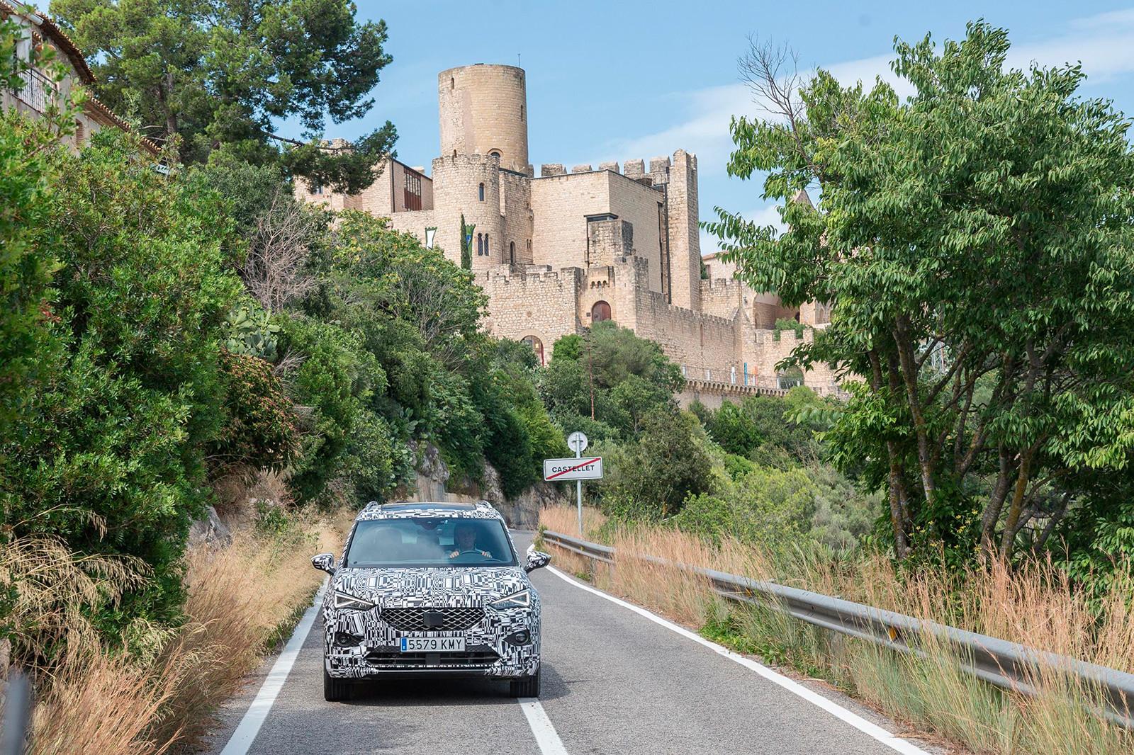 Foto de SEAT Tarraco, en vídeo (6/7)