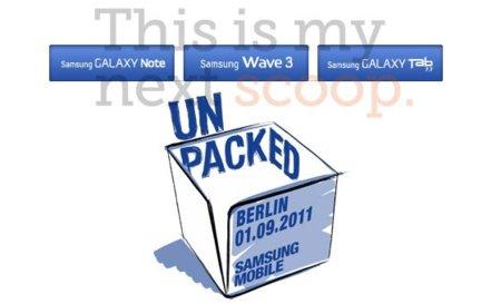 Samsung podría sorprender con un Galaxy Tab de 7.7 pulgadas