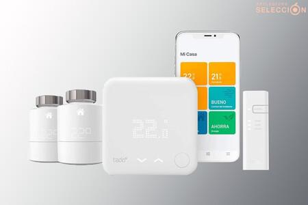 Automatiza la calefacción y controla el consumo con el kit de inicio de termostato tadoº con cabezales: 194,90 euros en Amazon