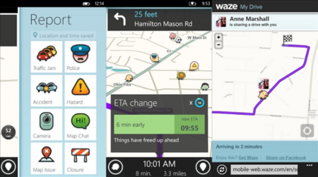 Waze ya está disponible para Windows Phone 8