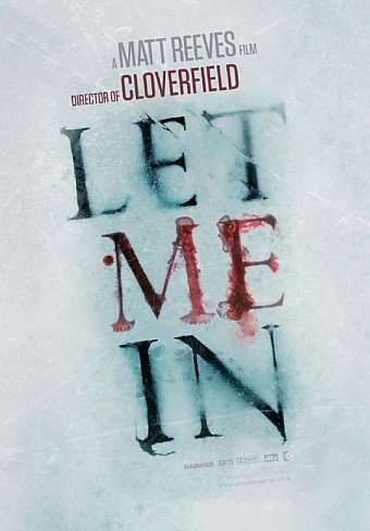 'Let Me In' de Matt Reeves, primer cartel