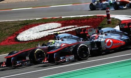 McLaren ya prepara el coche de 2014 sin la suspensión pull rod