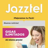 Jazztel también se apunta a los datos ilimitados, reduciendo velocidad tras 50 GB