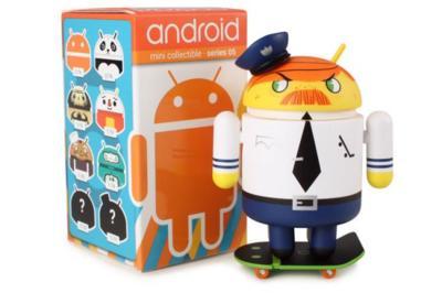 Dead Zebra enseña algunos Series 5 de las figuritas de Android y el especial Navidad