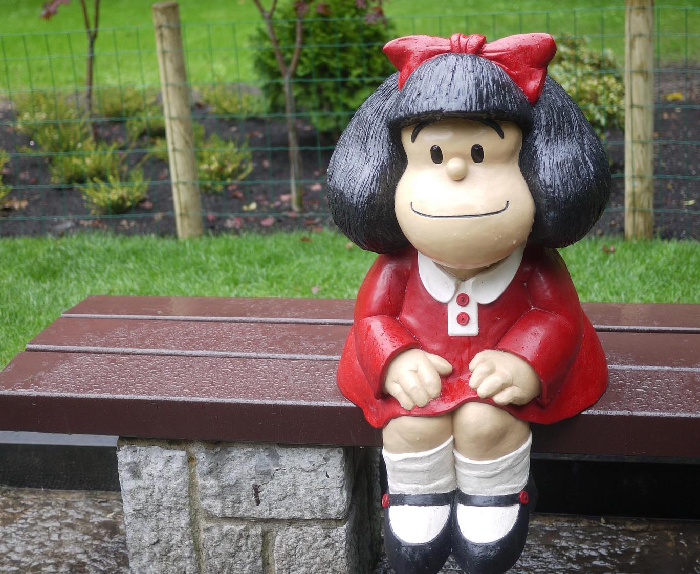 Mafalda por el mundo: las estatuas más entrañables del personaje de Quino