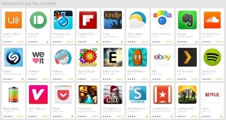Google Play nos muestra su selección de aplicaciones que hay que tener