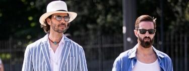 Entre vaqueros y camisetas blancas: así es el estilo por las calles de Florencia en el regreso del Pitti Uomo