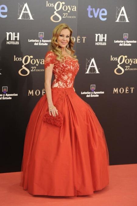 Goya 2013, la alfombra roja a las peor vestidas estuvo reñida. ¿Quién se alzará con el galardón?