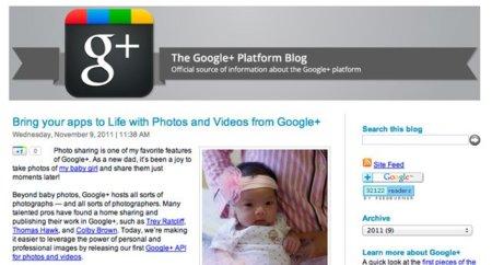 Google se equivoca y publica el anuncio de la API de Google+ para fotos y vídeos