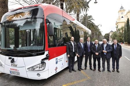 Málaga va a poner a trabajar al primer autobús eléctrico y autónomo de 12 metros de toda Europa