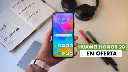 Llévate un smartphone de gama alta a precio de gama media con esta ofertaza de Huawei: Honor 20 por sólo 219,90 euros