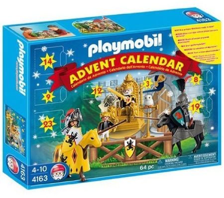 Calendario de adviento de Playmobil
