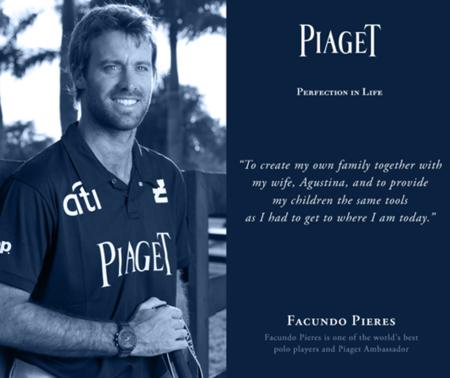 Piaget presenta a sus nuevos embajadores, cuatro hermanos de una misma familia, jugadores de polo