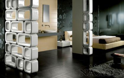 Naxos, separando ambientes con cerámica