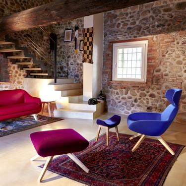 ALMA DESING: el sillón caracterizado por encajar con cualquier estilo decorativo