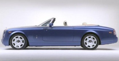 Rolls-Royce convertible casi oficial