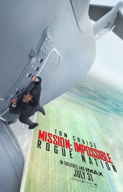 'Misión: Imposible - Nación Secreta', los carteles