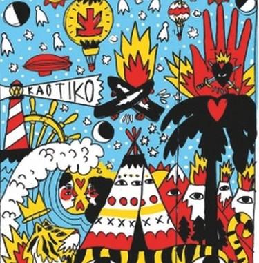 Ricardo Cavolo ilustrará en directo la fachada de la nueva tienda Kaotiko en Madrid
