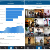 Instagram podría incluir estadísticas en las cuentas de negocios