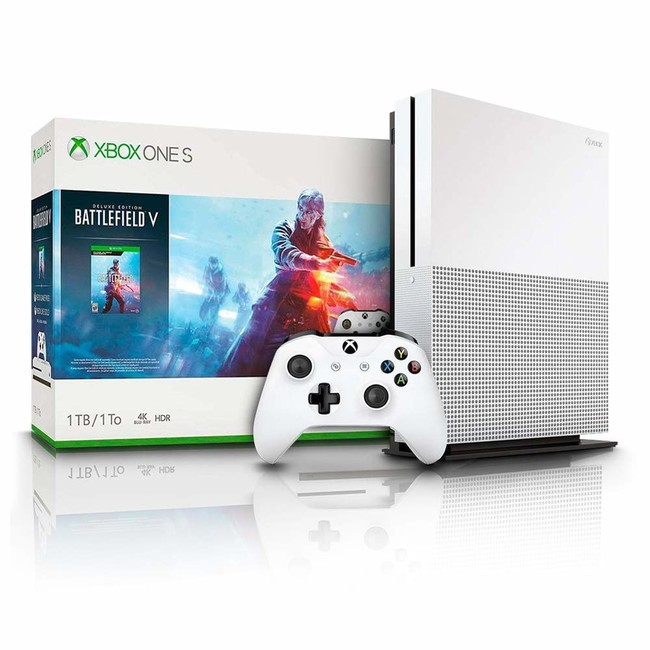 Xbox One S 1 TB + Battlefield V