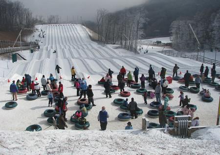 Nuevas opciones para ejercitarse en invierno (II): el snow tubing