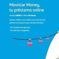 Movistar Money, préstamos de hasta 3.000 euros para los clientes de la operadora