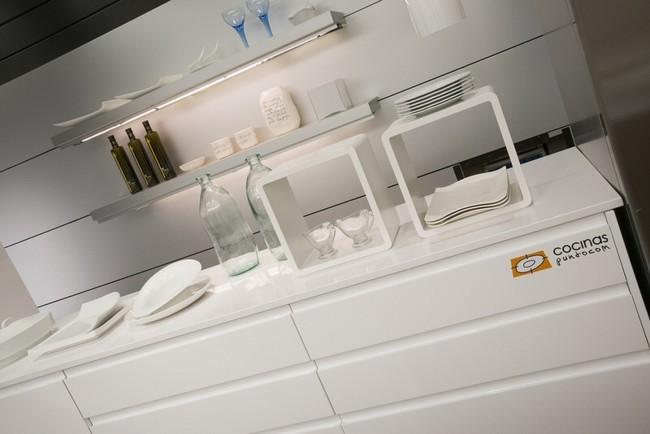 nueva cocina arguiñano 2013, muebles blancos