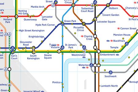 Mapa Londres Comecocos 2