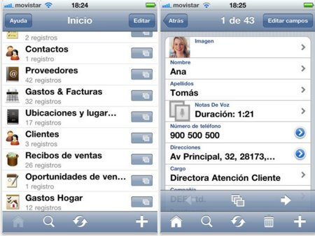 Actualización de Bento para iOS
