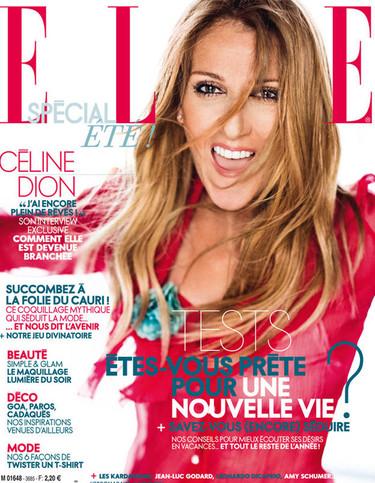 Respondiendo a la pregunta de si está preparada para vivir una nueva vida, Céline Dion posa en portada de la revista Elle