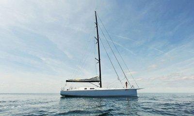 JP54: fantástico barco de vela interior