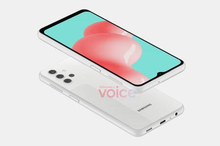 Así luciría el Samsung Galaxy A32 5G, posiblemente el móvil 5G más barato de Samsung