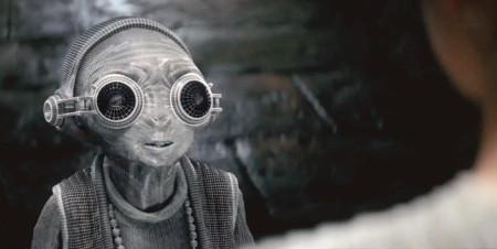 Un paseo en vídeo por los increíbles efectos especiales de 'Star Wars: El Despertar de la Fuerza'. Así nació Maz Kanata