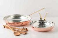 Cocina de lujo con esta batería de cobre