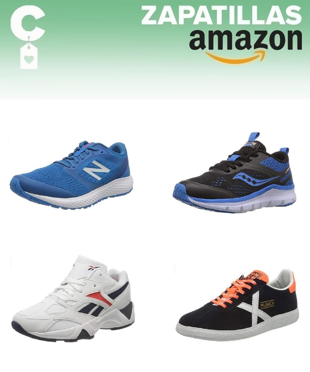 Chollos en tallas sueltas de zapatillas Saucony, Munich, Reebok o Fila en Amazon