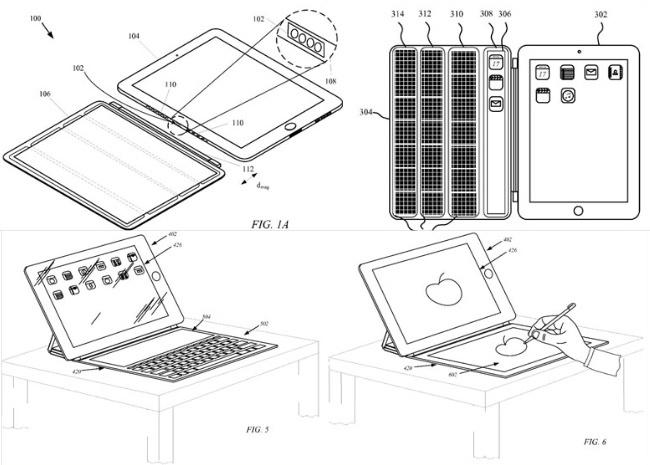 patente apple smart cover pantalla ipad