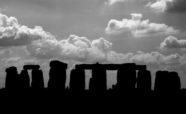 Stonehenge Silhouette