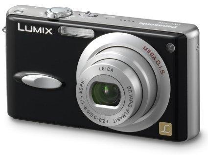 Nueva Lumix DMC-FX8 de Panasonic