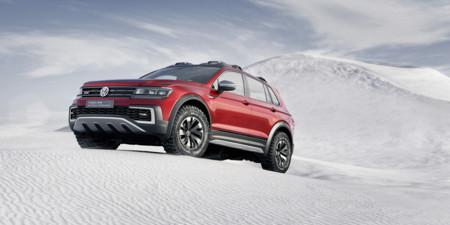 Volkswagen vuelve (casi) a la tracción trasera con el Tiguan GTE Active Concept