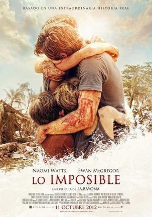 Cartel de 'Lo Imposilbe'