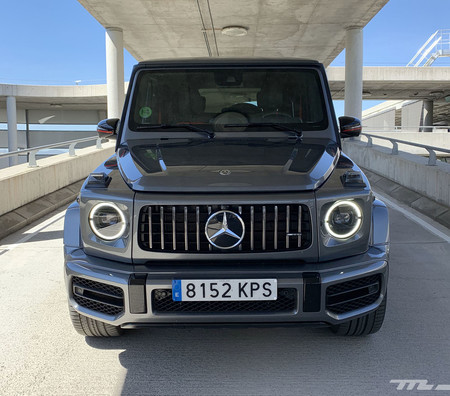 Mercedes-AMG G63 frontal