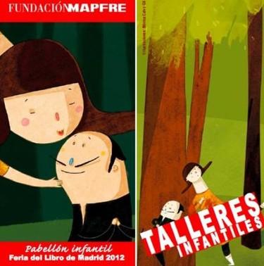Actividades infantiles de la Fundación Mapfre en la Feria del Libro de Madrid 2012