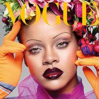 El primer portadón de September Issue viene de la mano de Vogue UK y lo protagoniza Rihanna (obvio)