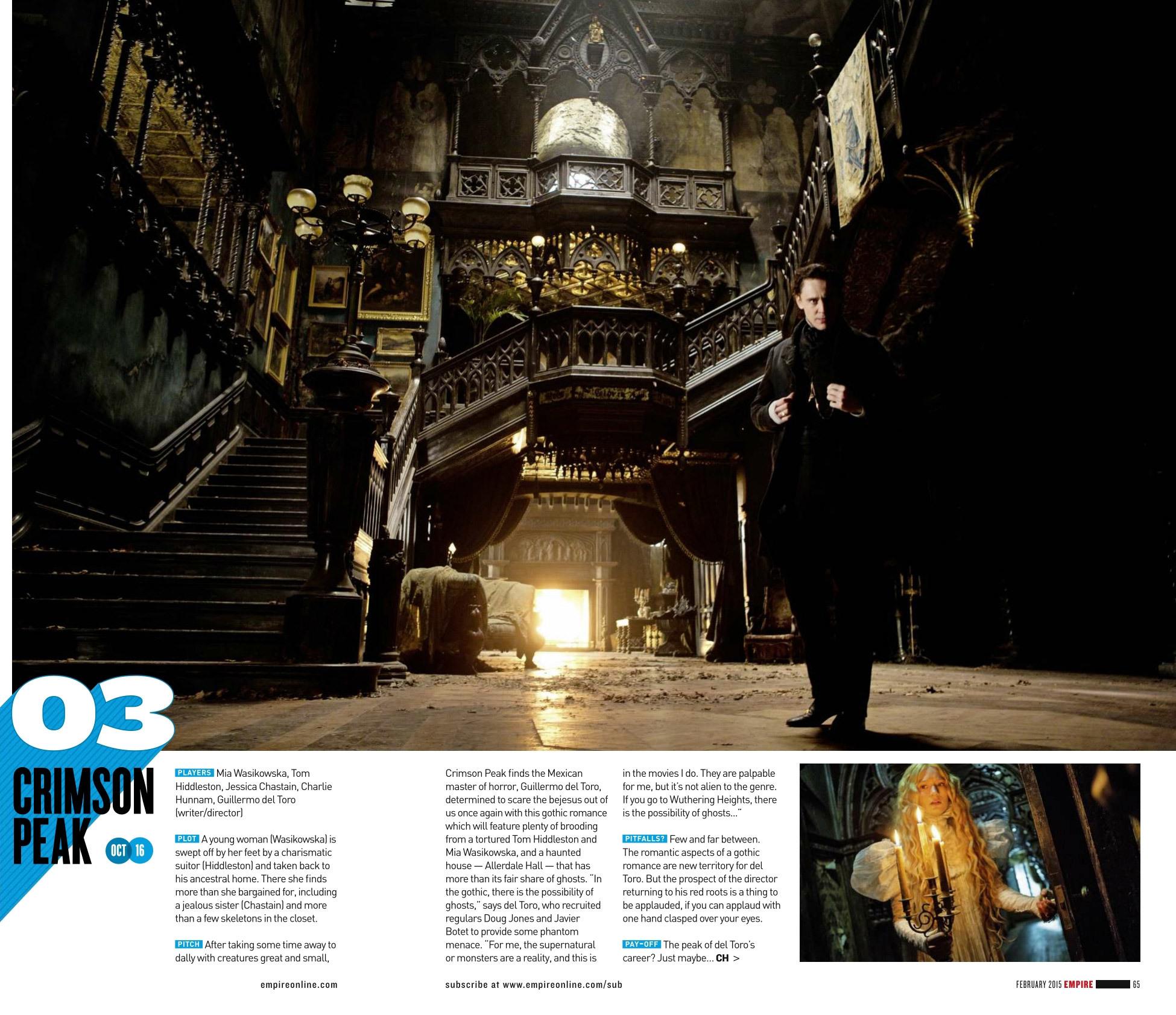 Foto de 'Crimson Peak', nuevas imágenes de la película de Guillermo del Toro (1/5)
