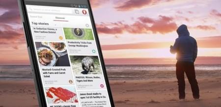 Opera 21 para Android renueva la sección Descubre, permite copiar enlaces y más