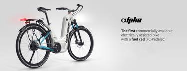 Con 150 km de autonomía y recarga en sólo dos minutos esta bicicleta eléctrica de hidrógeno busca ser la primera del mundo