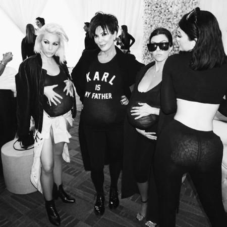 Este Halloween el disfraz más solicitado es el de Kim Kardashian (embarazada)