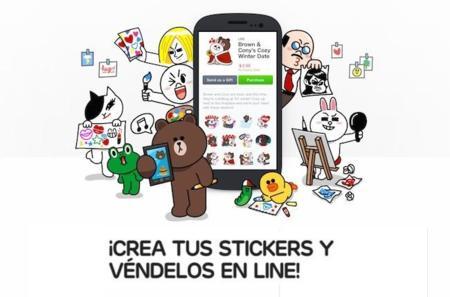 Line da en el clavo con los stickers creados por los usuarios: 24 millones de euros en seis meses