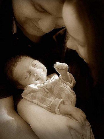 La foto de tu bebé: la alegría de David